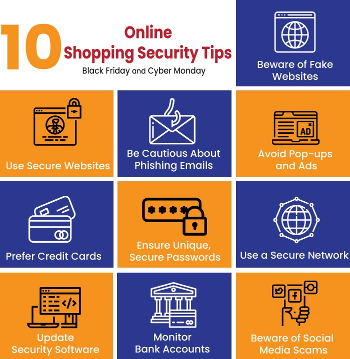 Top 10 Online Shopping Security Tips for Black Friday and Cyber Monday
